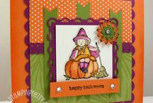 Halloween Card Inspiration / by Lisa Hall