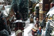 Christmas Train Layout