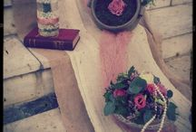Vintage ArtFlower by Christina Garidis / Wedding decoration