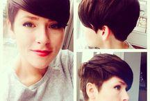 Pixie hair don't care / Pixie cuts