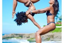 Beautiful Acro Yoga Poses / We're all beautiful creatures. Acro yoga poses help us remember that.