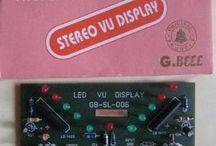 VU METER LED V DISPLAY LB1403