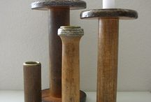 wooden spools / by Stacy Rhodes