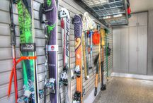 Garage storage and organization / A recent project designed to create an easy access and organized garage.