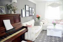 Bellas.HerzensSachen Wohnzimmer - Interior, Dekoration, Wohnen / Hier erhältst du einen Einblick in das Wohnzimmer von Bellas.HerzensSachen. Lass dich inspirieren von Dekoration, Interior und Einrichtung.