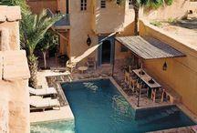 moroccan patios