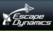 Escape Dynamics / We launched a website for our astronomical client, Escape Dynamics. Into digital space!