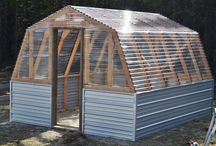 greenhouse an cold frames