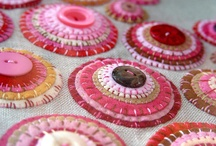 Woolly Applique / It is all about the embellishing! Wool applique is so fun and quick and simple. I love adding it to my woolly projects! It adds color, texture and whimsey!