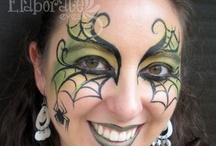 Halloween face painting / by Randy Wood