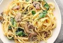 pasta / by Marissa Meyer