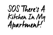 """SOS There's A Kitchen In My Apartment! / Pins from our weekly column """"SOS There's A Kitchen In My Apartment!"""" by our food editor, Kait."""