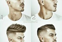 Men's hairstyle
