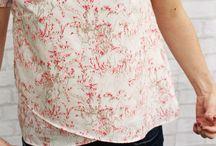 Notre patron Colibri / Patron de couture de la blouse Colibri