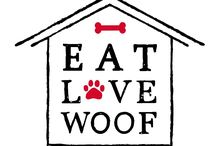 Eat Love Woof /cookies for dogs / Μπισκότα για σκύλους