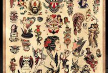 tatuagens no estilo de Sailor Jerry
