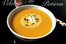 Soupe et velouté / soupe et velouté