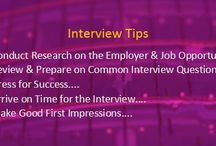 Interview Tips / Best Tips to Crack your Interview