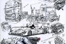 véhicules, machines