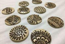 Henna jewellery / Free hand painted with henna
