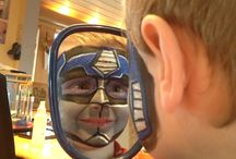 Face painting inspiration / by Courtney Laughlin-Jarrell