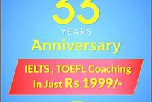IELTS, TOEFL Coaching