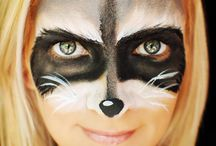 woodland face painting
