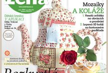 Nová Praktická žena   New issue / Všechno kolem květin a jedna žirafa!     All about the flowers and one special girafe!