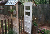 благоустройство сада / об украшении и благоустройстве сада.