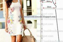 Vzory na šaty