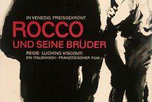 """inspiration: POSTERS: MOVIES: """"ROCCO UND SEINE BRÜDER"""" (1960)"""