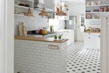 Open/simple kitchen