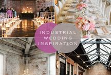 Industrial wedding inspiration / industrial style