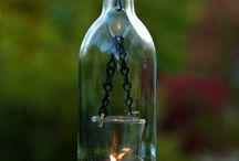idées avec les bouteilles