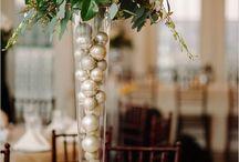 Christmas centrepieces,  1 Christmas tablecentres
