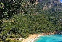 Kabak Beach near Faralya Oludeniz Fethiye Turkey