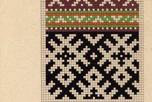 латышский орнаменты
