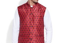 Digital Nehru Jacket - Men / Give a little bit of the dash of the color and jazz to digital Nehru jacket is required from time to time to make just the difference in regular clothing that one needs.