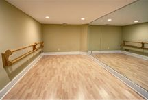 Home dance studio ideas  / Ideas for my dream home dance studio!
