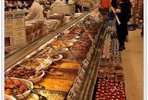 Hot food displays