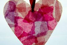 Svátky - Valentýn / Aktivity, hra a tvoření pro malé děti o Valentýnu