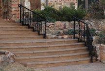 Handrails / Custom hand rails.  Installed by Titan Fence & Supply Company.