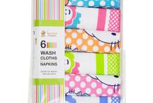 Napkins and Burp Cloths / These Napkins / Burp Cloths are made from 100% Cotton, the Material of these Napkins / Burp Cloths gives Maximum Absorbency and Comfort for your Baby's Tender Skin. Quirky Designs and Bold Colors makes these Napkins / Burp Cloths a must have Collection. These Napkins / Burp Cloths come in wide range of Sizes, Colors and Styles. The Eye-catching Prints make these Pretty bath towels a Wonderful Pick for your Little One.