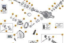 99-04 Grand Cherokee WJ Parts Diagrams / by Morris4x4Center.com