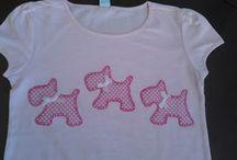 camisetas de patchwork