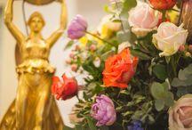 Flower decorations for Rocco Forte Astoria
