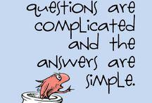 Dr. Seuss / A very smart poet
