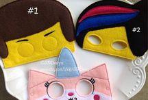 Naamiaisasut, naamiot ja maskit, Halloween masks