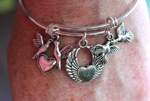 Timeflies Treasures / Pieces of jewelry that I have made - Go to:  https://www.etsy.com/shop/VJsBeadsnNeeds?ref=hdr_shop_menu
