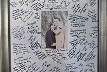 Wedding Guest Books / Creative Ideas and Inspirations for Wedding Guest Books